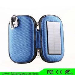 2600mAh factory supply priced portable solar power mobile bag
