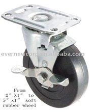 1.5 caster wheels