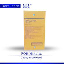 1000g developer DV610 CKMY for use in C500/ 6500/ 6501 compatible for Minolta color copier spare parts