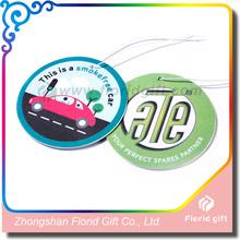 CMYK printed Paper Air Freshener promotion hanging car air freshener