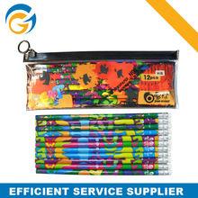oem eco plastic pencil box pencil case plastic pencil case with toppers