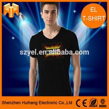 LED Fashion Flashing EL T-Shirt supply supply
