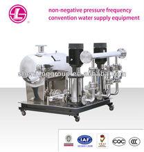 No negative pressure stablized water supply equipment, non negative pressure water system, water supply equipment
