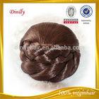 2014 popular new products hair bun fake hair bun hairpiece