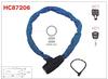 Heavy Duty Hardened Round Link,Motorbike Lock,Motorcycle Lock HC87206