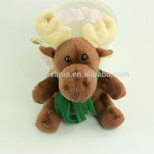A set of custom christmas toy,christmas gifts for kids,plush christmas deer