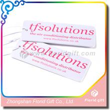 Promotion paper air freshener customise fragrance