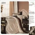 jacquard venda quente alto estilo tc algodão egípcio lençóis de seda atacado