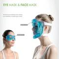 コールドホット癒しのアイマスク、 クールジェルフェイスマスクを睡眠