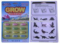 Growing Capsule/sponge capsule toys/dinosaur capsule