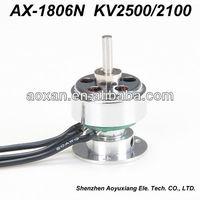 high torque small electric motor for rc plane 2100-2500kv 12v dc motor