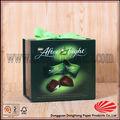 Emballage cadeau boîte de carton pour le chocolat avec ruban