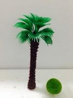 5cm mini palm tree hand made coconut tree model palm tree mode coconut palm tree model miniature house
