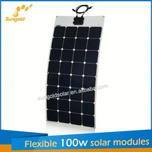 Sungold PV Module Manufacturers flexible solar panels thailand hotels pattaya