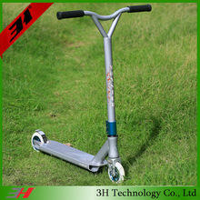 Outdoor Wicked Stunted Scooters Freestyle BMX Bike White For Sale