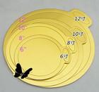 custom gold cake board foil paper cake base paper