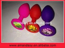 Las ventas calientes del sexo productos eróticos eléctrica anal choque enchufe CE approavl de silicona anal enchufe culo juguetes para el hombre y la mujer BMD004