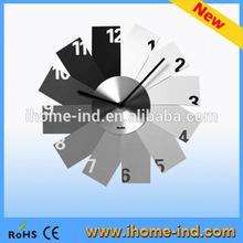 decorative wall clock clear acrylic wall clock(T5406)