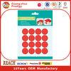 round sticky glue permanent adhesive dot sticker