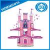 Christmas village, castle rail way car ,electric train toy pink rail way car pink castle