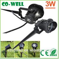 2014 Hot New Products Garden spike shenzhen outdoor garden 12v led light garden spot lights