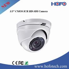 "HD 1080P IR Dome Camera 1/3"" CMOS 2 MP Image Sensor Hikvision OEM Security Surveillance Camera"