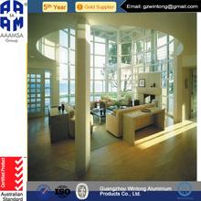 New Design Top Sale Beautiful Fixed Window/Pvc Window Blinds