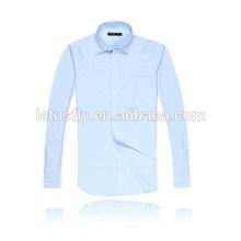 contraste de cuello blanco manguito blusa de seda de los modelos