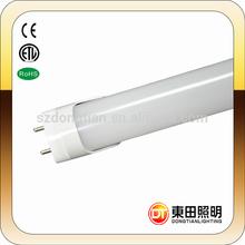 White color IP44 120cm high bright 18 watt warm white led tube light