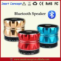 Multimedia Equipment Hi-Fi Mini Portable Metallic Design Bluetooth Speaker