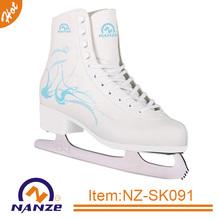 Winter sport shoe adult ice figure hockey skate stainless steel blade skate shoes