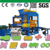 QT5-15 concrete paver molds for sale automatic brick machine