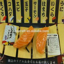 high quality mini sushi fridge magnet resin