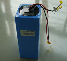 12.8V 50Ah LiFePO4 battery pack used for solar power system