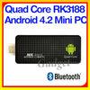 Mini PC Quad Core Android 4.2 2G/8G smart tv tuner box