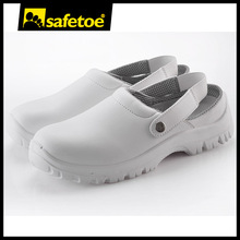 White esd safety shoes, hospital shoes clog, hospital work shoes L-7096