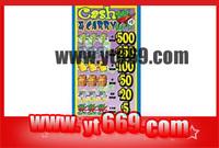 custom pull tab lottery ticket