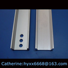 Anodised/Polished Aluminum Edging Profile with Punching Triangles