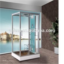 Luxury blue film shower cabin shower room foot massage