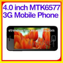 Best 4.0 inch IPS MTK6577 Dual Core GPS Bluetooth no brand smart phone
