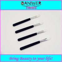 Hot sale Black makeup eyeshadow brush,White synthetic cosmetic brush