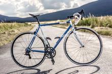 road bike, geared bike