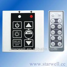 500W Triac Dimmer With Remote Control / PE380-10V 480W PWM 0-10V Led Dimmer / PE582 IR Remote Touch Led Triac Dimmer