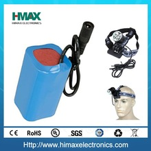 led cree flashlight battery 18650 battery and charger