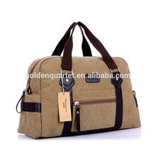 2015 new high-grade canvas tote bag shoulder travel duffel Bag