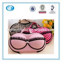hot popular EVA material travel bra storage case/box/bag/pouch