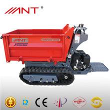BY1000 garden loader dump trucks rubber track 13hp gasoline honda engine