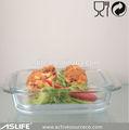 Asc2112-1600ml 54.05oz retangular de cozimento pratos de vidro vendido! Praça não combinar com alça de silicone de vidro pyrex assadeira set