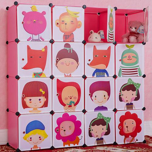 20170406&151155_Badkamer Kast Plastic ~   plastic grote cartoon garderobe kast voor kinderen( fh al0052 16