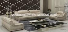 Popular simple modern sofa set dubai leather sofa furniture